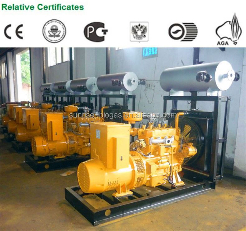 H2 fuel engine and electricicity genset Hydrogen, methane, natrual gas, propane, biogas,Coal-water-gas Electricity Generator