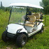 6 passenger off road 250cc 4 stroke gasoline powerd golf cart with low price