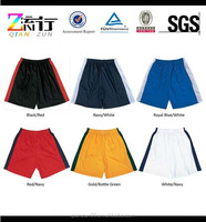 2015 Wholesale Plain Blank Cotton Spandex Athletic Sweat Compression Gym Running Crossfit Shorts for Men