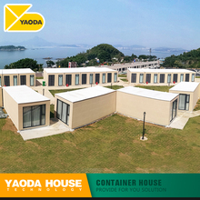 container garden houses hostel motel prefabricated mobile luxury classic modular living container house