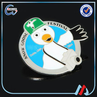 snow goose festival decoration badges