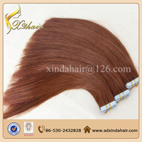 2014 new products hot sale in Australia Market Brazilian remy tape hair extensions