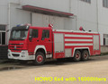 2017 new sinotruck howo 6X4 fire fighting truck price
