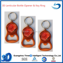 Fancy Design deep 3d effect metal key ring for promotion