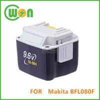 9.6V Battery for Makita 9.6V Battery Cordless drill BFL080F, BFL120F TD061RH series