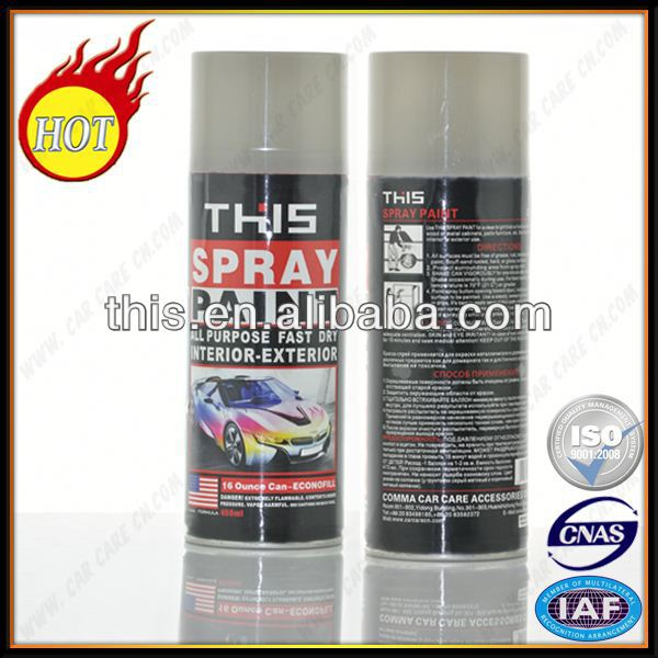 450ml MSDS Aerosol Bus Design Paint