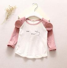 d47727a 2016 kids cute clothes baby spring clothes children girls fashion tshirts