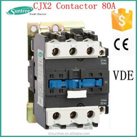 CJX2 Contactor 80A magnetic contactor electric elevator parts