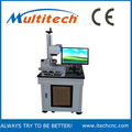 china 10w 20w portable mini fiber color laser marking machine for metal price