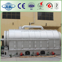 YONGLE Waste Plastic Recycling To Oil Machinery