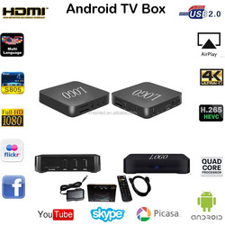 smart Support Decoder format HD MPEG1 2 4 H.265 android tv box