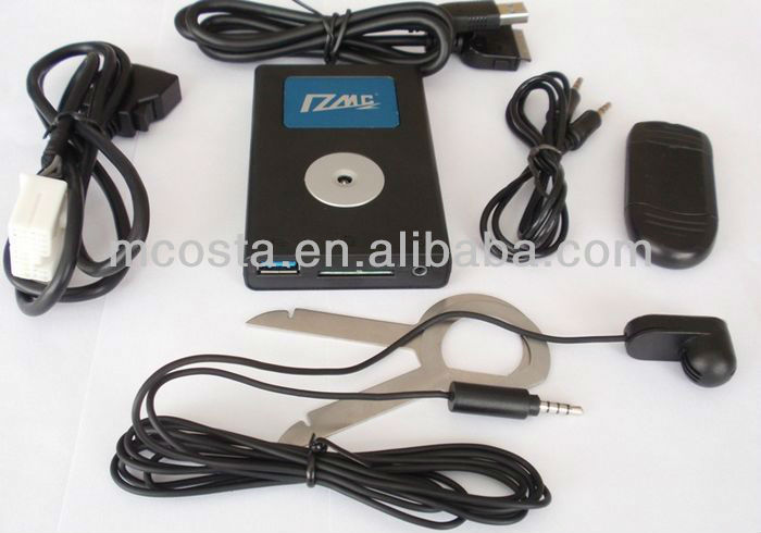 Digital CD Changer(USB SD AUX bluetooth adapter)