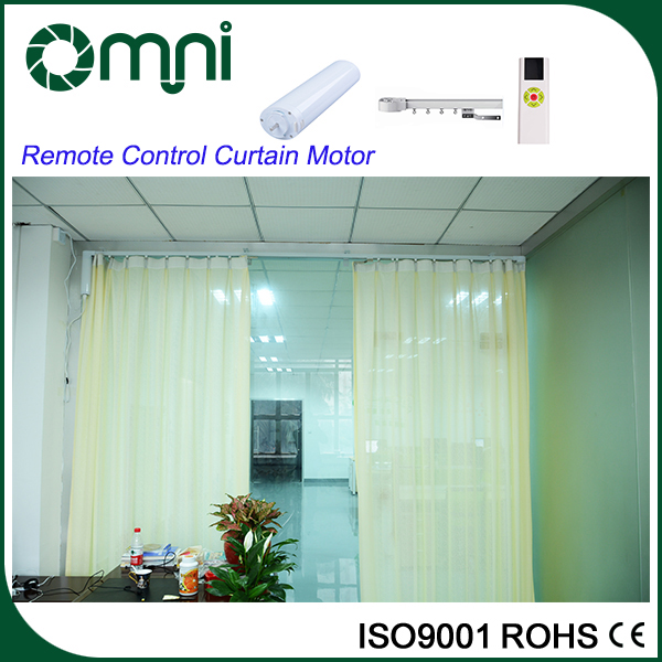 2016 Hot Sales Home Automation Curtains with Motorised Curtain Tracks and Curtain Track Accessories