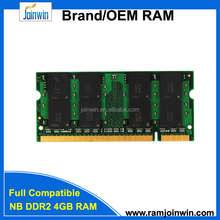 New products exported to dubai in low price ram laptop ddr2 4gb 800 memory