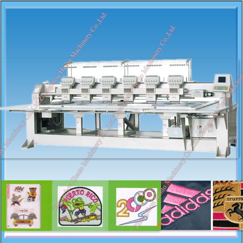 2016 Automatic 6 Heads Computer Embroidery Machine Price