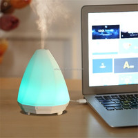 Newest LED Night Light USB diffuser Essential Oil Ultrasonic Air Humidifier electric Aroma Diffuser Aromatherapy Dry Protecting