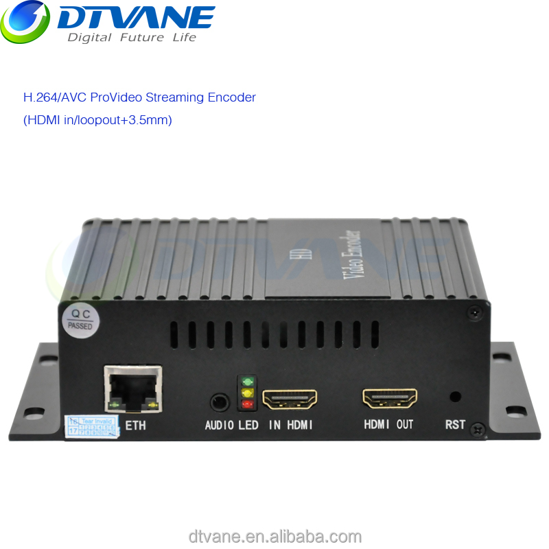 Professional HEVC H265 /H264 IPTV 1080P Video Streaming Hardware HDMI SDI UDP Encoder