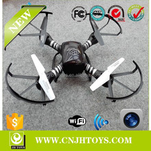 2015 LATEST Upgrade Version!!! 2.4G 6-Axis RC Wifi FPV Drone - Quacopter with Camera Real Time Video Transmission via Smartpho