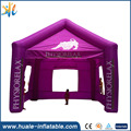 2017 Huale inflatable Hot sale Inflatable cubic tent, inflatable tent in advertising, inflatable camping tent with PVC tarpaulin