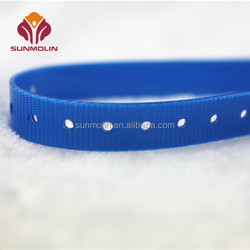 Plastic waterproof durable tpu coated nylon webbing pet training collar for dog