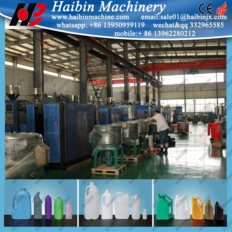 Plastic tray blowing moulding/making machine