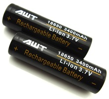 AWT 18650 3400Mah 4A 3.7V rechargeable best 18650 battery for flashlight alibaba in russian subzero mod clone fidget pen vt 75