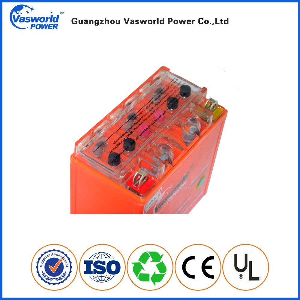 125cc Motorcycle Battery Manufacturer 12N9L Battery