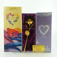 Best gift for birthday 24k gold rose gifts with crystal and fragrance