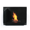 lndoor used contemporary freestanding ethanol gas fireplace mantel