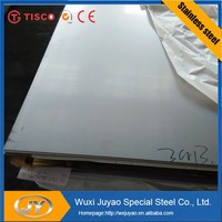 Tisco 8K Mirror finish stainless steel sheet 316L protected by PVC film