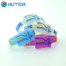 low cost silicone wristband rubber band