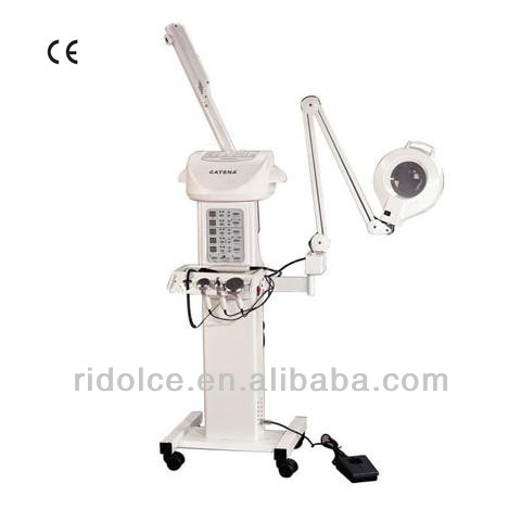 Steam / Magnify lamp / Brush beauty equipment 2014 with CE certificate hottest products on the market CT-201S