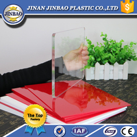 unbreakable flexible medical highly transparent acrylic resin