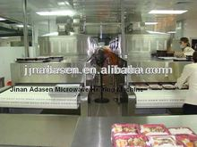 Stainless Steel conveyor belt microwave equipment for cooking fast food