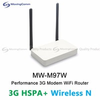 Latest Product MW-M97W OpenWRT 2.4GHz Wifi 300Mbps 3G Indoor Mediatek 7620A 2 RJ45 Port Wireless Router