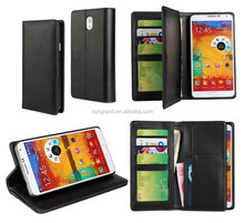 For Samsung galaxy note 4 stand flip wallet purse card holder leather case cover