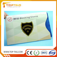 Customized RFID Blocking Sleeves Set Protection