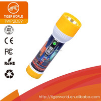 torch manufacturers OEM chinese factory tiger world dry battery black dynamo india led light torch flashlight