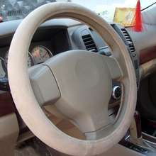 Super Quality White Polythene Bus Steering Wheel Cover