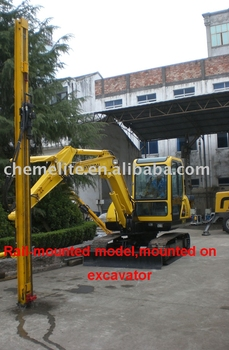 rock drill mounted on excavator,Hydraulic rock drill,crawler drill