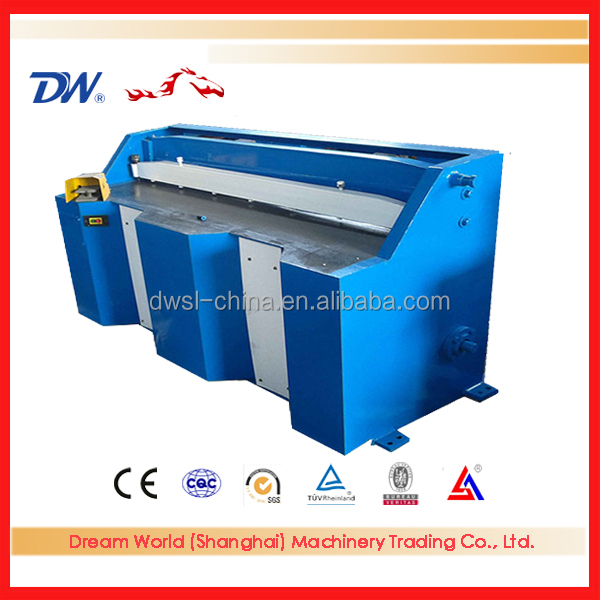 China Name Brand SLMT <strong>Q11</strong>-1.5*1000 Type Electrical Sheet Cutting <strong>Machine</strong> with CE Certification