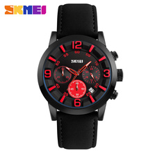 Watch manufacturer china movt wrist watches premium leather belt quartz men reloj