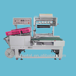 full automatic saline bads shrink packing machine