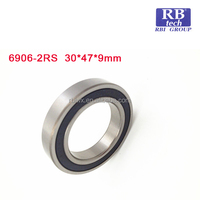 High precision celling fan ball bearing 6906 2RS ZZ made in china for cnc machine in different sizes