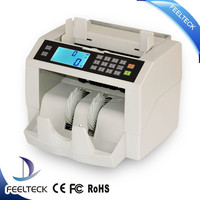 cheapest currency verifier,ticket counter machine,banknote binde