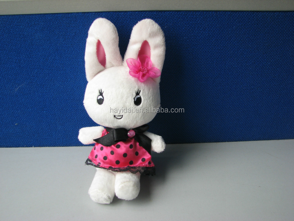 "Pink Plush rabbit toys 8"" with Disney license"