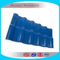 Chinese Wholesale Plastic Synthetic ASA Resin Roofing Tiles