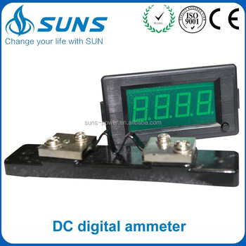 Professional manufacturer AC current meter ammeters for africa