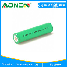 1.2V Ni-mh 600ma AA Rechargeable Battery