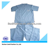 white cotton latest designs surgical hospital gown set